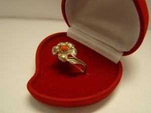 Кольцо с кораллом, 925 пробы, масса 4.75гр, размер 18.5, 713 рублей
