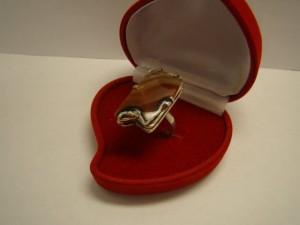 Кольцо с сердоликом, 925 пробы, масса 6.84гр, размер 19, 2000 рублей