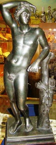 Парная скульптура, литье, 19 век Европа Шпиатр 200.000 рублей за пару