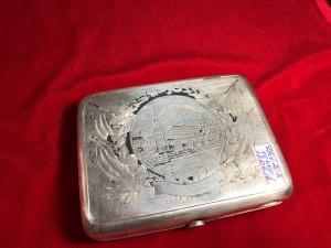 Арт 208-18 Портсигар, серебро 875 пробы, вес 167.60гр.  10.000 рублей