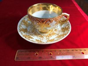Арт 286-18 Чайная пара фарфоров, Германия  19.000 рублей