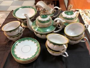 Арт 18-19 Чайный сервиз. Гжель, 16 предметов.  20.000 рублей
