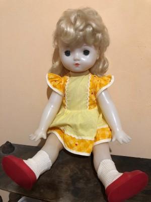 Арт 103-19 Кукла большая, пластиковая СССР, начало 1970 год. 4700 рублей