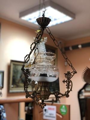 Арт 53-19 Светильник на 1 лампу, лампу, плафон стекло.  6000 рублей