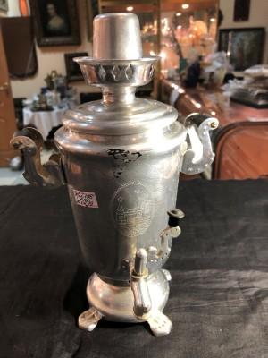 Арт 175-19 Самовар сувенирный, алюминиевый. 1400 рублей