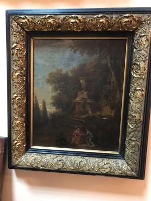 Арт 295-18 Картина в раме. Голландия, холст, масло, 19 век. 35.000 рублей