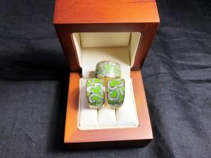 Арт 245-19 Комплект с бриллиантами, 585 проба, масса 26.88 гр. размер 16.5,  54.000 рублей