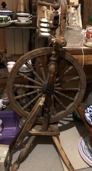 Арт 262-19 Прялка деревянная, Россия конец 19 века. 1500 рублей