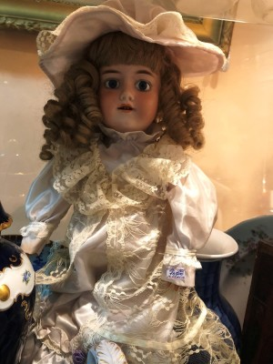 Арт 268-19 Кукла Марсель, 1900 годов, Фарфор, Германия. 13.500 рублей