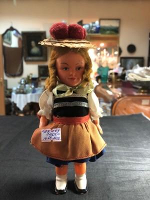 Арт 268-19 Кукла заводная Германия 1950 год, 1400 рублей
