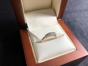 Арт 313-18 Кольцо с бриллиантами, 585 проба, размер 17, масса 3.69 гр. 21.500 рублей