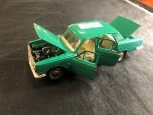 Арт 198-20 Машинка коллекционная, ГАЗ 24 зеленого цвета, СССР 1970 год. 2500 рублей