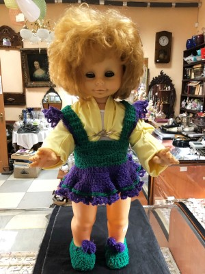 Арт 186-20 Кукла ГДР 1970 год. 900 рублей