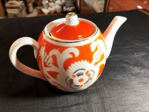 Арт 112-21  Чайник заварочный, фарфор, 350 рублей