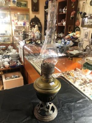 Арт 151-21 Лампа керосиновая, металл латунь, конец 19 начало 20 века. 6000 рублей