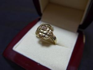 Кольцо 585 пробы, масса 4,72г. размер 16,0. 12,000 рублей