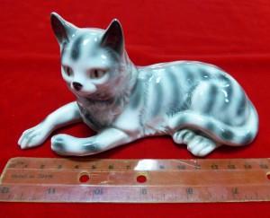 Арт 384-14 Статуэтка фарфоровая, Германия  «кошка» 2500 рублей