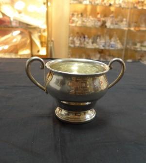 Арт 505-16 Сахарница, серебро 900 пробы, вес 164гр.  9050 рублей