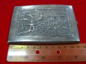 Арт 306-16 Визитница, серебро 900 пробы, вес 129.13гр.  6500 рублей
