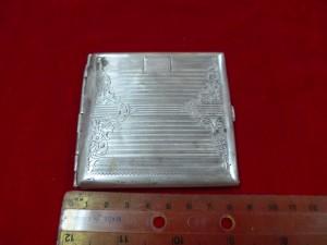 Арт 97-11 Портсигар, серебро 900 пробы, вес 81.90гр.  10.000 рублей