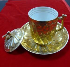 Арт 527-16 Чайная пара, фарфор, Кузнецов 19 век. 15.700 рублей