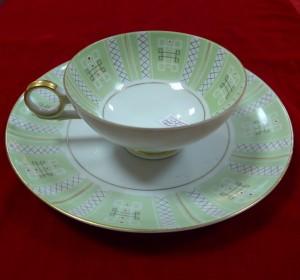 Арт 74-16 Чайная пара, фарфор, Веймер 1500 рублей