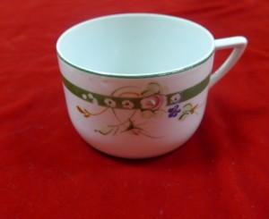 Арт 487-16 Чайная чашка, фарфор, Кузяево СССР 1940 год. 1700 рублей