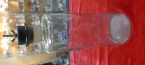 Арт 487-16  Бутылка мерная с травлением, и пробкой. 1920 год. 1000 рублей