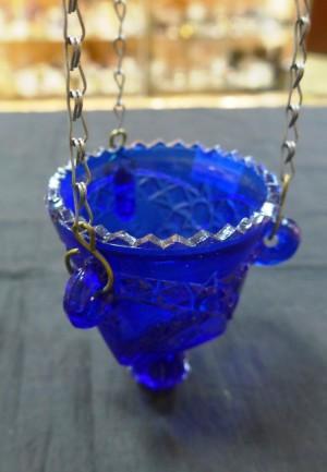 Арт 36-17 Лампадка, синее стекло, 1000 рублей