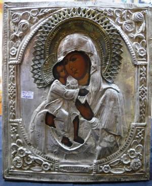 Арт 414-15 Икона Феодоровская божья мать, начало 20 века 10.000 рублей