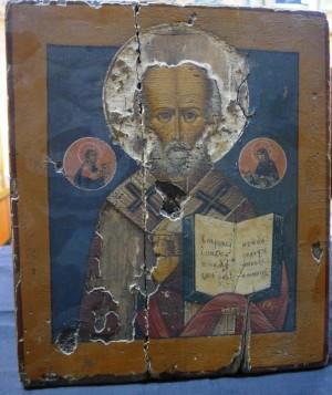 Арт 465-15 Икона Николая чудотворца. 13.400 рублей