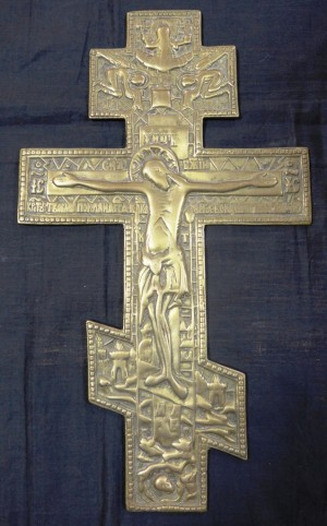 Арт 390-15 Крест пластика, латунь. 19 век 3000 рублей