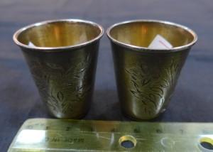 Арт 121-17 Рюмка серебро 875 пробы, вес 17.53гр.  1060 рублей