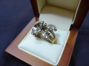 Арт 311-16 Кольцо с бриллиантами, 750 проба, размер 20,5 масса 10.56гр. 36.000 рублей
