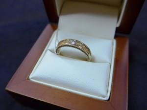 Арт 397-15 Кольцо с бриллиантом, 585 проба, размер 17,5 масса 3.14гр. 11.500 рублей