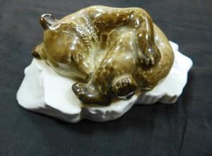 Арт 252-17 Статуэтка  ЛФЗ, 1950 год, мишка 5000 рублей.