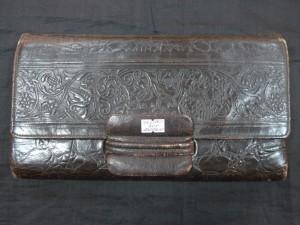 Арт 269-17 Сумка кожаная, стеснением. 1950 год. 800 рублей