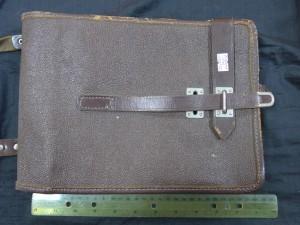 Арт 269-17 Сумка, планшет военный, кожа. 700 рублей