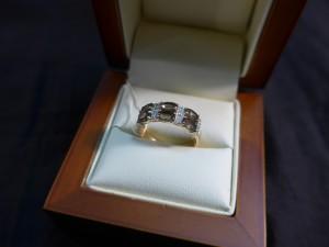 Арт 281-17 Кольцо с  кварцем, 585 проба, размер 17 масса 3.09гр. 5408 рублей