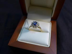 Арт 276-17 Кольцо с  бриллиантами, 585 проба, размер 17,5 масса 2.87гр. 21.000 рублей