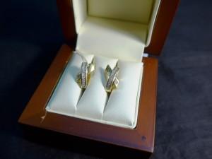 Арт 297-17 Серьги с бриллиантами, 750 проба, масса 4.65 гр. 16.750 рублей