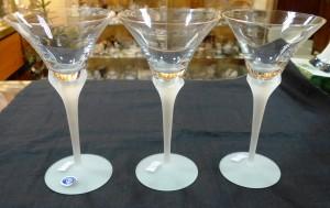 Арт 366-17 Фужеры, Чехия, стекло 100 рублей