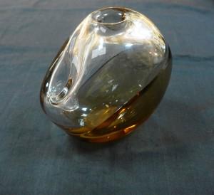 Арт 364-17 Ваза, Чехословакия, стекло 600 рублей