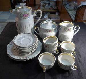 Арт 369-17 Сервиз кофейный. 1500 рублей