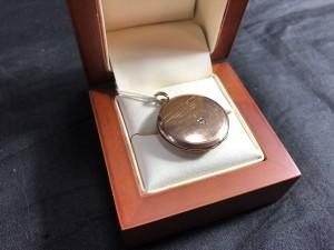 Арт 79-19   Кулон с бриллиантом. 583 пробы, масса 3.89гр 12.000 рублей