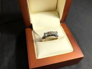 Арт 360-19 Кольцо с бриллиантами, 56 проба, размер 18 масса 4.27 гр. 167.000 рублей