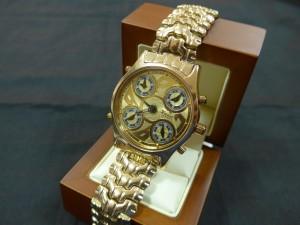 Арт 253-17 Часы Ника, золотой браслет, 585 проба, размер 21,5 масса 71.47гр. 150.000 рублей
