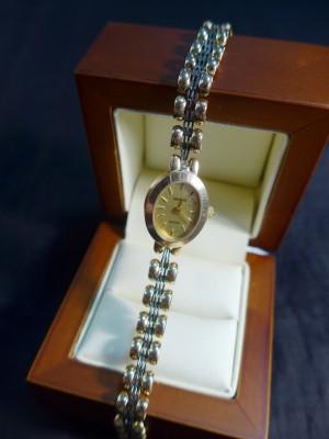 Арт 282-17 Часы, золотой браслет, 585 проба, размер 17, масса 21.56гр. 34.496 рублей