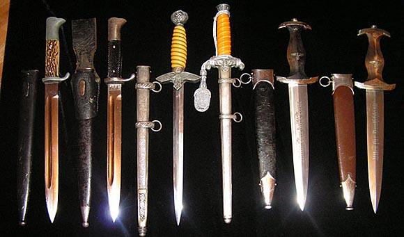 коллекции старинного холодного оружия